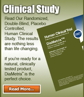 DiaMetrix Clinical Study for Blood Sugar Support