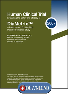 Human Clinical Trail for DiaMetrix Blood Sugar Support