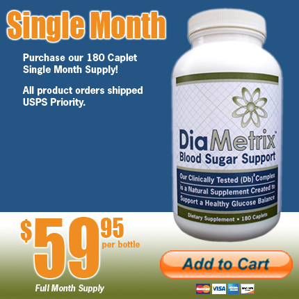 One Month Offer for Blood Sugar Support Large